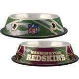 Washington Redskins Dog Bowl – Stainless
