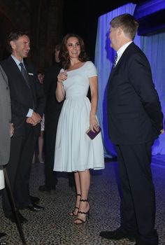 The Duchess of Cambridge unveiled the Natural History Museum's latest attraction during a gala reception
