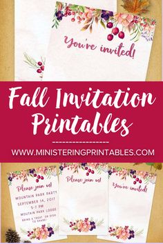 This time of year is full of fall parties, socials, carnivals, and get-togethers. I recently made an invitation for a church fall social and loved how it turned out. I wanted to share this fun, colorful, fall invitation with you. #FreePrintables #FreeFallPrintables #FallPrintables #FallIdeas #MinisteringPrintables #Ministering How To Make Invitations, Doctrine And Covenants, Thanksgiving Celebration, Goals Planner, Watercolor Invitations, Carnivals, Youre Invited, Fun Ideas, Party Planning