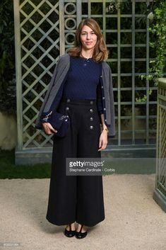 Sofia Coppola attends the Chanel Haute Couture Spring Summer 2018 show as part of Paris Fashion Week January 23, 2018 in Paris, France.