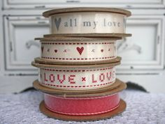 'Love' Ribbon Collection