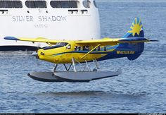 Photo taken at Vancouver - Harbour Seaplane (CXH / CYHC) in British Columbia, Canada on August Amphibious Aircraft, Bush Plane, Float Plane, Flying Boat, Aircraft Photos, Whistler, Otters, Firefighter, Planer