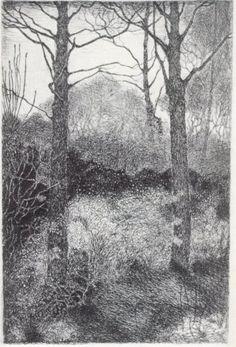 Bosrand by Jan Mankes Landscape Drawings, Landscape Art, Dutch Artists, Great Artists, Black White Art, Dutch Painters, Nature Tree, Urban Sketching, Museum Of Modern Art