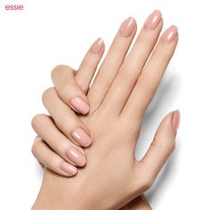 Start a love affair with 'topless and barefoot,' a beautiful bare pink. Essie