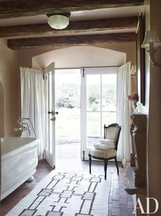 French doors prove to be très chic in these gorgeous rooms from our archive