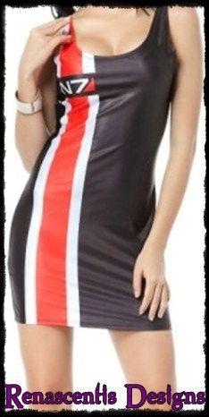 Mass Effect dress.