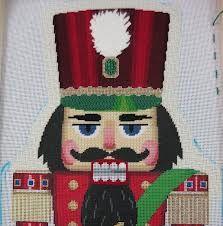 Nutcracker Cross Stitch::Detail