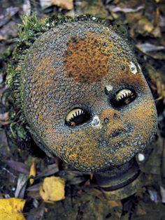 «La poupée atomique» abandonnée au Jardin d'enfants de Pripiat Tchernobyl - Ukraine -