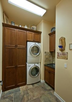 Stacked Washer And Dryer Design, Pictures, Remodel, Decor and Ideas - page 7