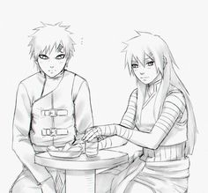 Kira and Gaara