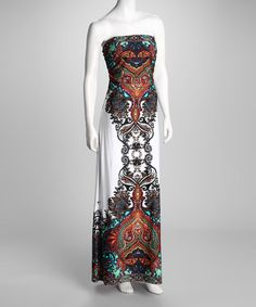 Take a look at this Speechless Brown Boho Maxi Dress by Speechless on #zulily today!
