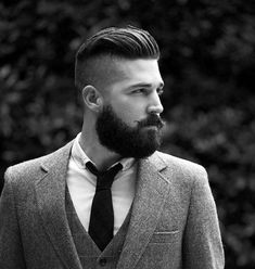 Fade Haircut With Beard For Men 2018