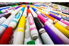 What To Do With Dryed Out Markers! Water Paint #Home #Garden #Trusper #Tip