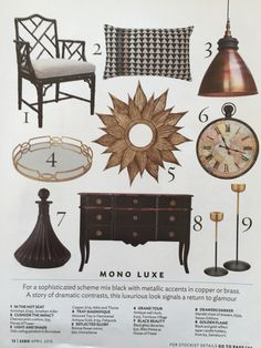 #lighting #furniture #mirror