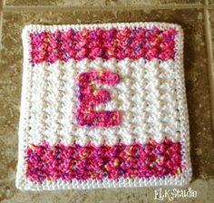 ELK Studio - Ella Baby Blanket - Free Crochet Pattern