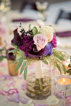 wedding centerpiece idea; CHELSEA BROWN PHOTOGRAPHY
