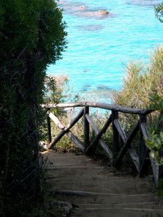 """Spiaggia """"Paradiso del Sub"""", Zambrone, Calabria, Italia."""