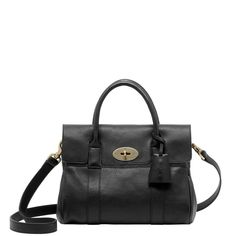 MULBERRY Bayswater Satchel Natural Leather