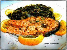 Σολωμός φρικασέ(1 μονάδα)   Diaitamonadwn.gr Japchae, Risotto, Cooking, Ethnic Recipes, Food, Kitchen, Kochen, Meals, Yemek