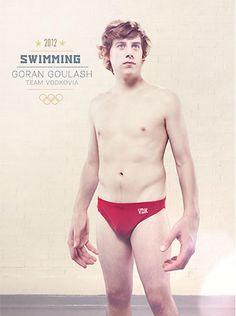 Pósteres surrealistas de las olimpiadas de Londres 2012