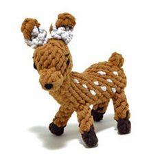 Daphne the Deer Rope Toy by Jax and Bones
