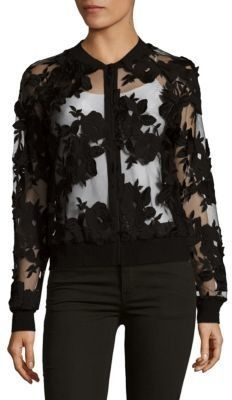Embroidered Floral Jacket by T Tahari on ShopStyle.