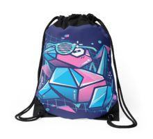 Cool Porygon Drawstring Bag