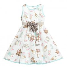 90e040fb2 Monnalisa Bebe - Baby Girls 'Jerry the Mouse' Ice Cream Dress |  Childrensalon Girls