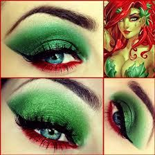 Probably going to be poison ivy for Halloween. Cool eye make-up Poison Ivy Cosplay, Poison Ivy Kostüm, Poison Ivy Makeup, Poison Ivy Costumes, Poison Ivy Nails, Poison Ivy Batman, Looks Halloween, Halloween Cosplay, Halloween Face Makeup