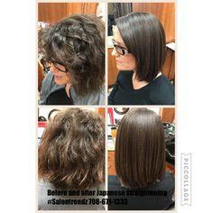 Japanese Hair Straightening, Frizz Free Hair, Damaged Hair, Skin Makeup, Hair Beauty, Dreadlocks, Hair Styles, Hair Plait Styles, Hair Makeup