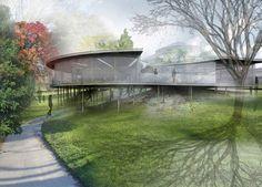 Svendeborg Architects' Design for Botanical Garden in Arhus