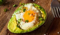 Baked Eggs in Avocado A wonderful way to start your day with a baked egg in avocado. When avocado's are in season trying to use them up can be a challenge, well this is the perfect recipe to… Low Carb Breakfast, Breakfast Recipes, Breakfast Ideas, Perfect Breakfast, Nutritious Breakfast, Breakfast Buffet, Breakfast Pizza, Free Breakfast, Dinner Recipes