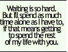 Spend my life with you <3