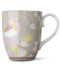 PIP STUDIO - Large khaki early bird mug | Selfridges.com