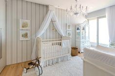 Custom nursery for baby Georgia designed by Baby Belle