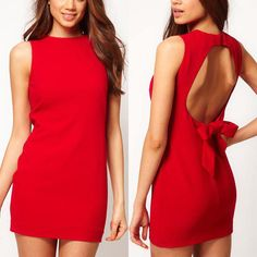 New Womens Summer Sexy Backless Casual Party Evening Cocktail Short Mini Dress
