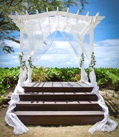 Garden wedding pavilion | Turtle Beach Elegant Hotels, Barbados