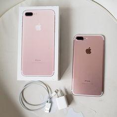 iPhone 7 Plus Rose Gold Unlocked Iphone Novo, New Iphone, Apple Iphone 6, Iphone 7 Plus, Unlock Iphone, Iphone Unlocked, Girly Phone Cases, Iphone Cases, Iphone 7plus Rose Gold