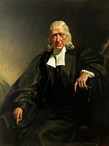 John Wesley-- (1703--1791) was an Anglican minister and theologian who, with his brother Charles and fellow cleric George Whitefield, is credited with the foundation of the evangelical movement known as Methodism. His work and writings also played a leading role in the development of the Holiness movement and Pentecostalism
