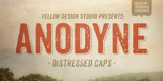 Anodyne Fonts  Complete Family 6 fonts by YellowDesignStudio, $39.00