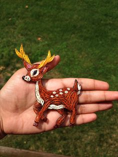 Quilled deer … More