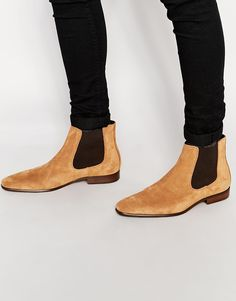 7321c4e881f50f Kurt Geiger Francis Suede Chelsea Boot at asos.com. BottinesMode HommeBottes  ...