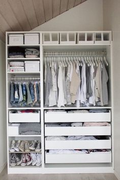 DIe besten Ideen und Ikea Hacks für Ihre Garderobe