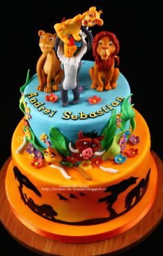 Peachy 192 Best Lion King Cakes Images Lion King Cakes Lion King Funny Birthday Cards Online Barepcheapnameinfo