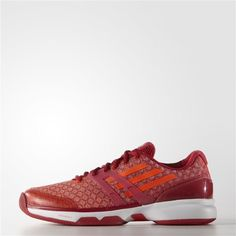 new product 1d0e4 096ea Disponible Adidas adizero Ubersonic Femme Power Rouge Solar Rouge Blanc