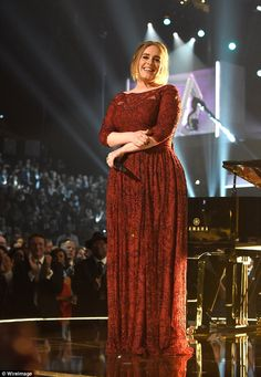 Powerful: Adele spellbound with a riveting performance of All I Had