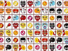 Ez egy összekötős játék, az oszlopok felfelé emelkednek. Tíz tábla van, az egyik érdekesebb, mint a másik.   #ábrák #kínai #oszlop #oszlopok