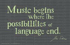 Sibelius Quote