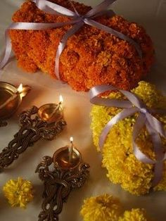 #Marigold is used in making garlands for temple decoration. So which flower are you using this #FestiveSeason for decoration?