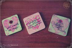 Handmade fridge magnets :) www.meriart.pl.tl